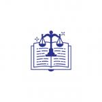 Otvorená kniha ako znak služby právny servis