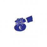 Ruka s eurami ako znak finančného servisu