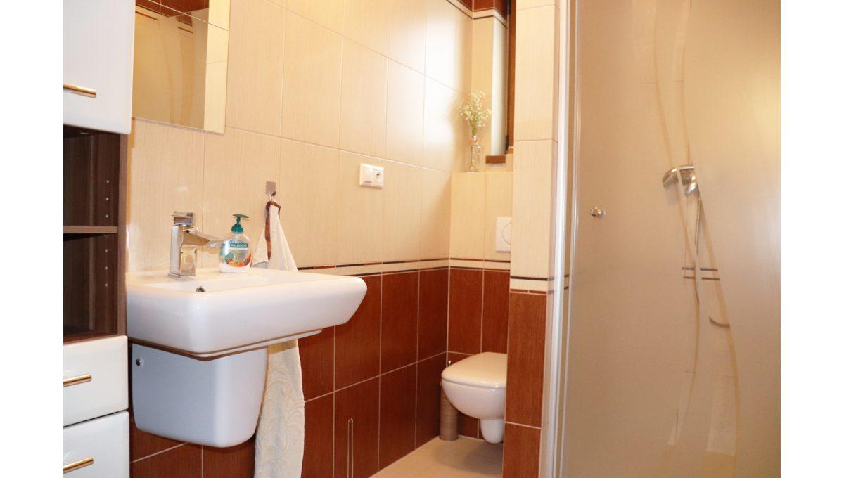11 Nova Dedinka 4 izbovy rodinny dom na predaj v dobrej lokalite pohad na spodnu kupelnu so sprchovym kutom a toaletou