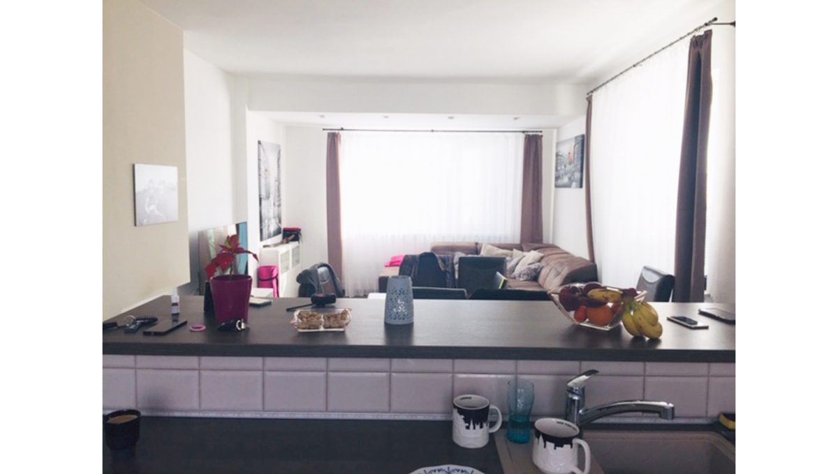Konfido Tomasov ponuka dvoch samostatnych domov pohlad z kuchyne na obyvaciu izbu