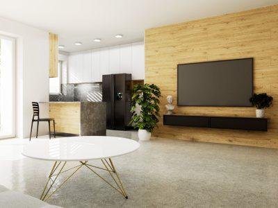 Bernolakovo-01-Konfido-pekny-5-izbovy-rodinny-dom-novostavba-pohlad-na-vizualizaciu-obyvacej-izby-a-kuchyne-s-vystupom-na-terasu