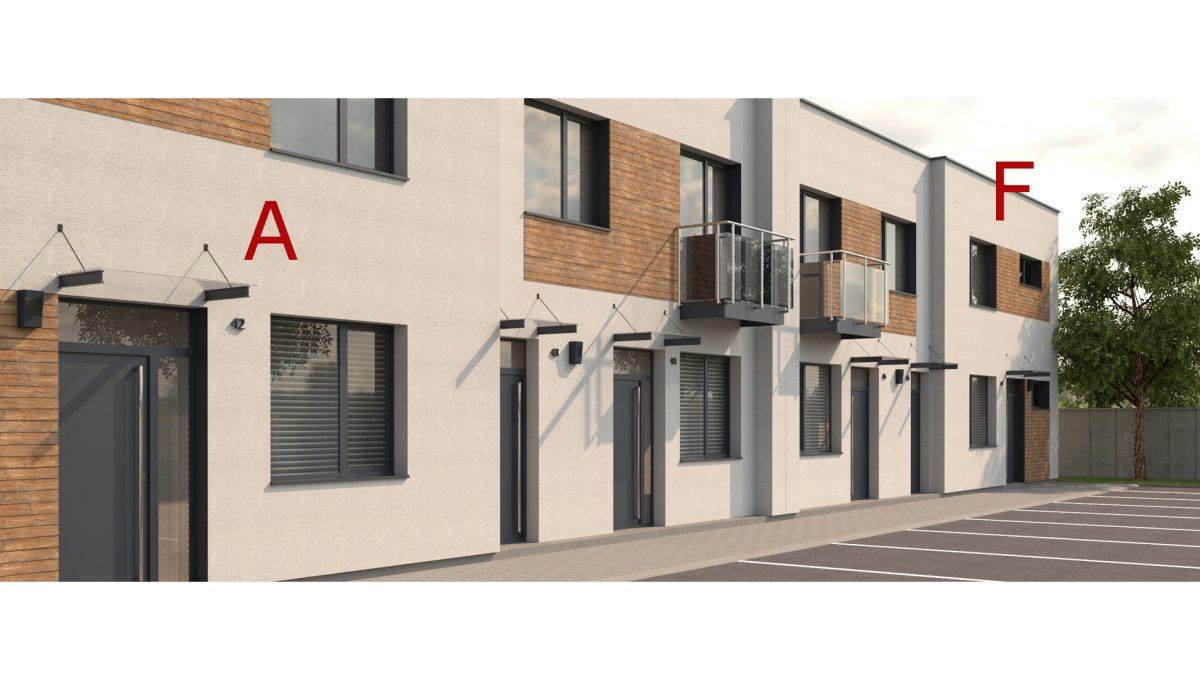 Bernolakovo 03 Konfido 5 izbovy rodinny dom na predaj pohlad z parkoviska pred domom