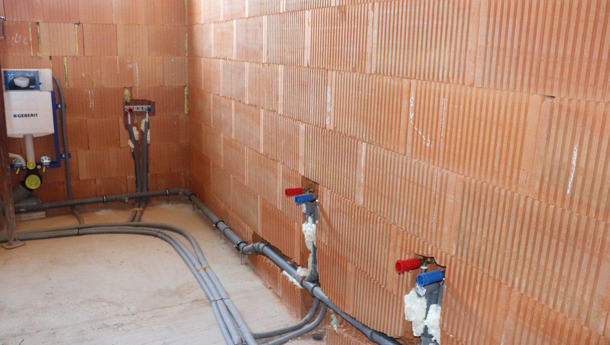 Bernolakovo 15 Konfido 5 izbovy rodinny dom na predaj pohlad na cast buducej kupelne s toaletou na prvom podlazi