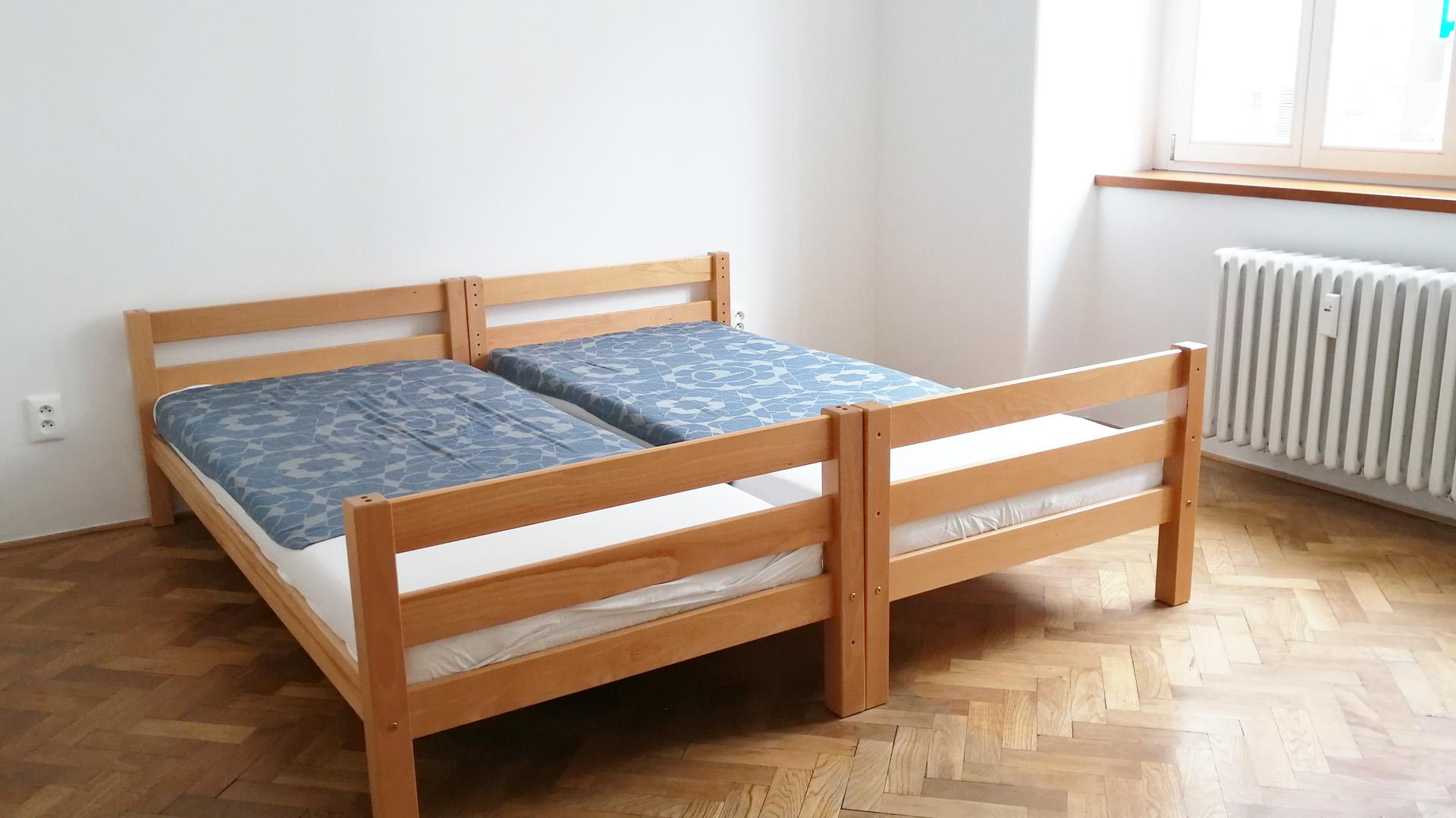 Priestranný 3 izbový byt na prenájom v centre hlavného mesta / VIDEO