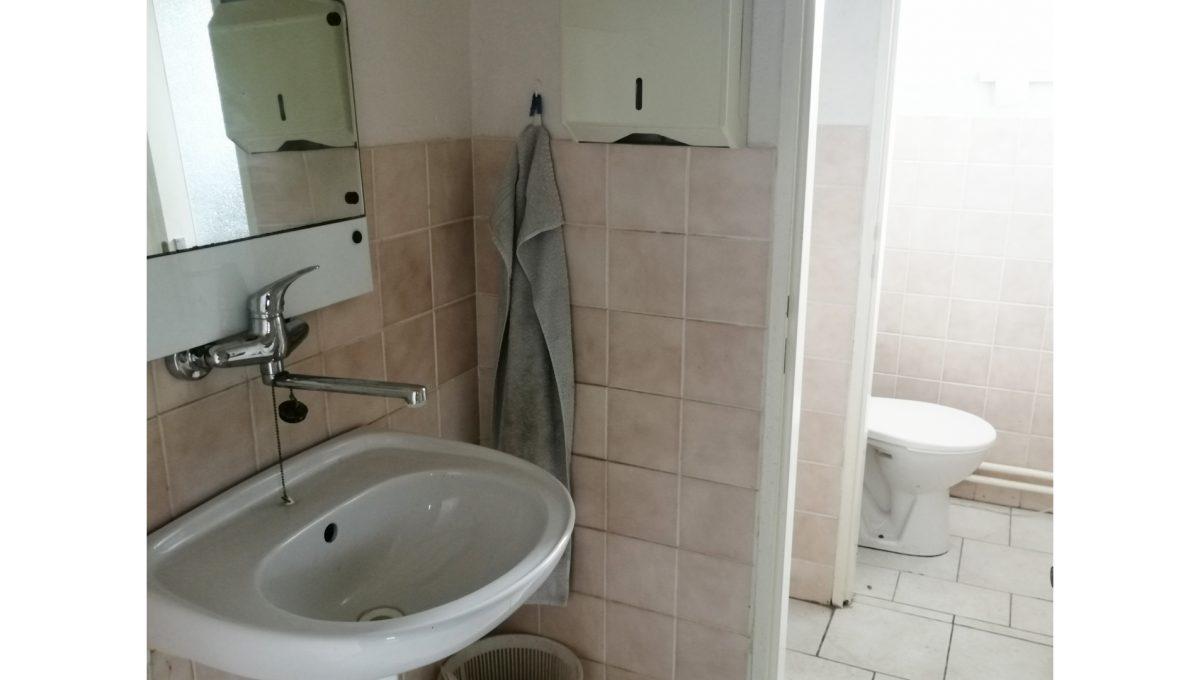 Dolne Otrokovce 22 velky pozemok uprostred obce cast Mlyn na predaj pohlad na toaletu budovy skladu