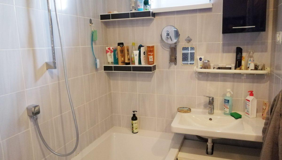 Gabcikovo 09 rodinny dom na predaj 3 izbovy pohlad na umyvadlo a vanu v kupelni