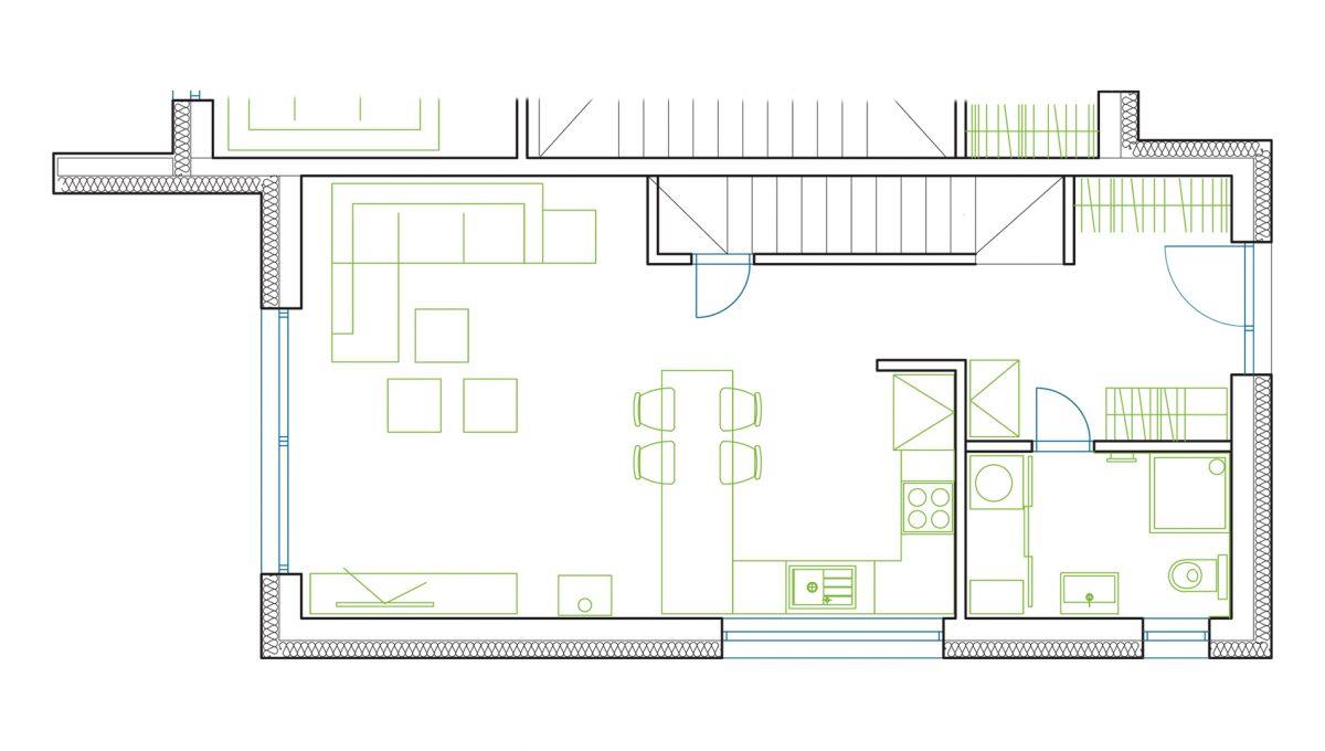 Hruba-Borsa-07-Konfido-predaj-dvojdom-novostavba-4-izbovy-rodinny-dom-pri-golfovom-ihrisku-podorys-prizemia