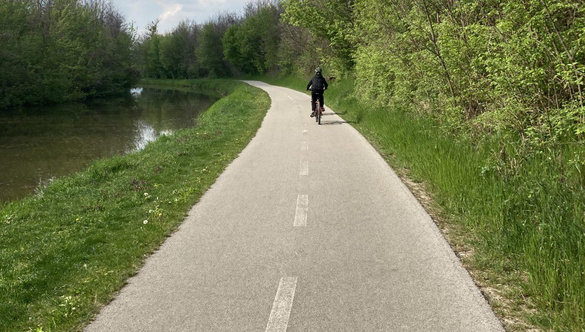 Cyklochodník Nová Dedinka - Bernolákovo