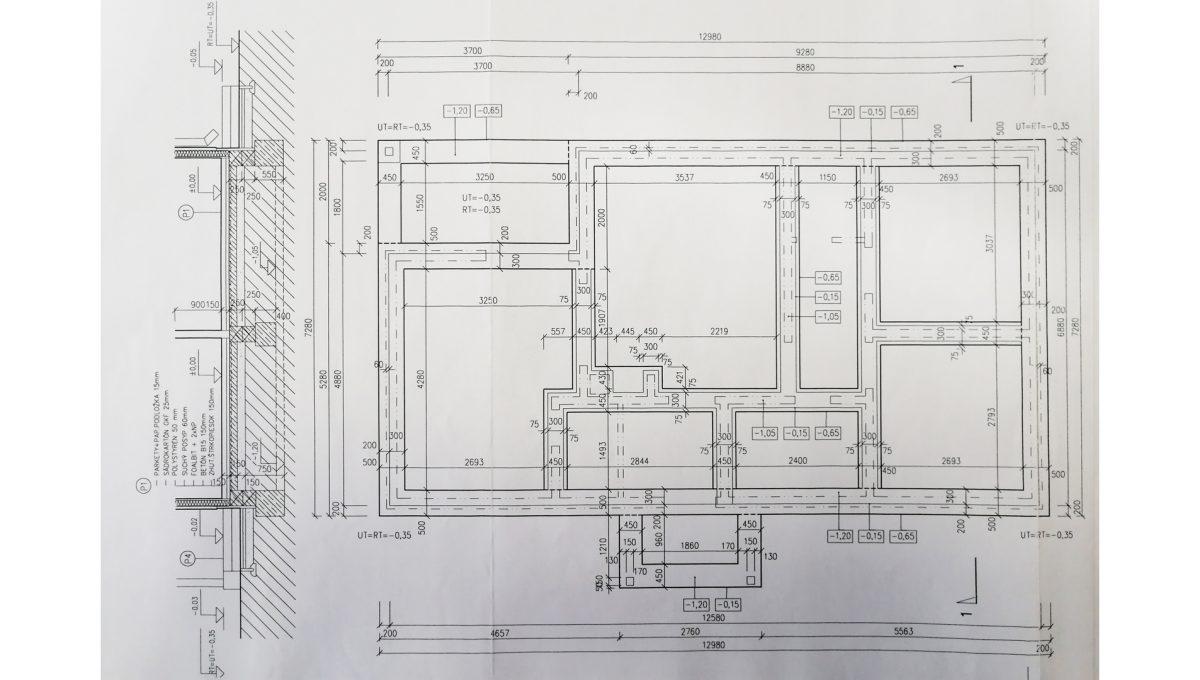 Miloslavov 22 3 izbovy rodinny dom drevodom betliar podorys