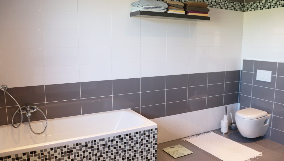 Nova Dedinka 25 krasny 5 izbovy rodinny dom na predaj s velkym pozemkom pohlad na hlavnu kupelnu s toaletou a vanou