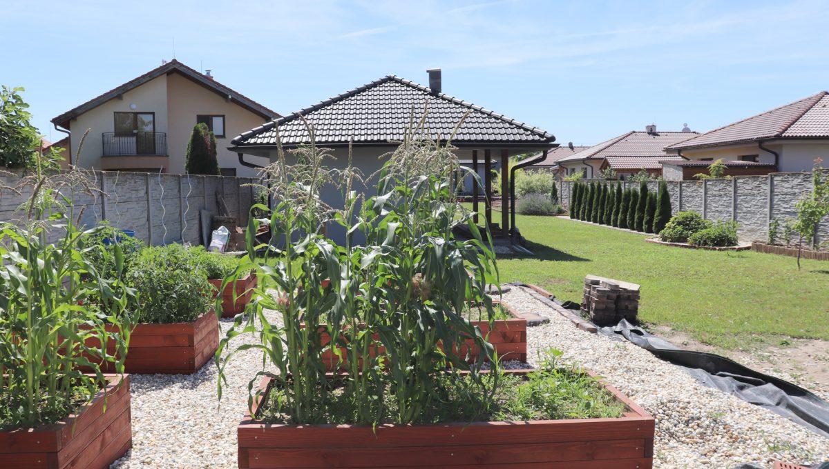 Nova Dedinka 37 krasny 5 izbovy rodinny dom na predaj s velkym pozemkom pohlad na vysadbu v upravenej zahrade