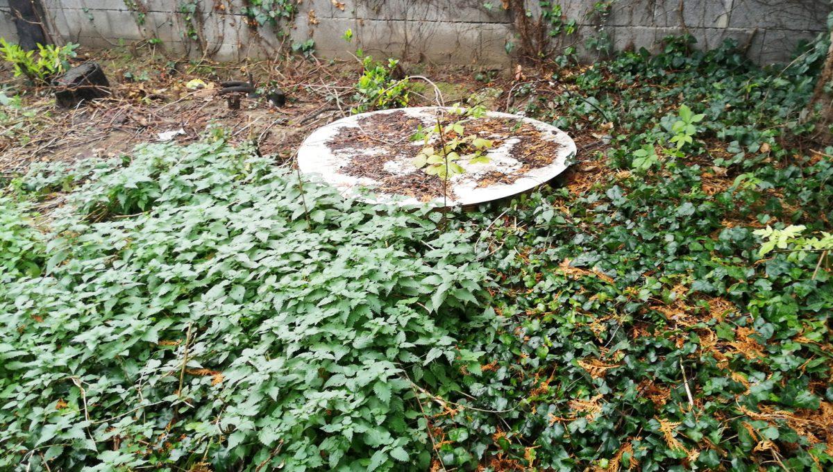 Podunajske Biskupice 08 Bratislava zahrada pohlad na siete na pozemku