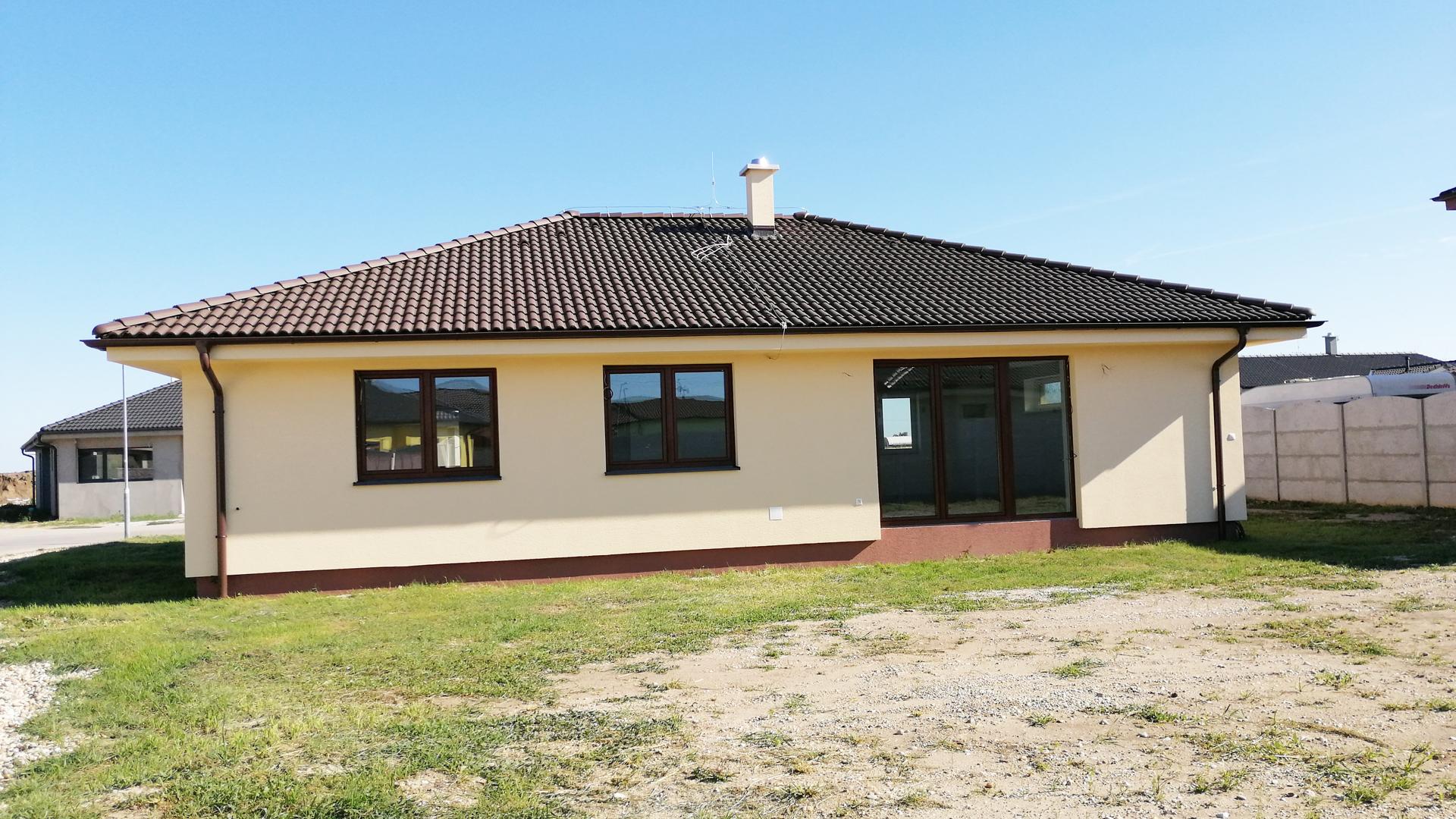 4 izbový rodinný dom, novostavba, Reca, okres Senec – PREDANÉ