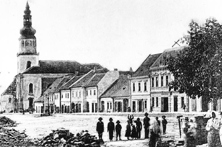 Nehnuteľnosť v meste Modra historicke namestie